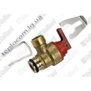 Предохранительный клапан Vaillant 3 бар для газовых котлов Vaillant atmoTEC , turboTEC Pro арт. 178985