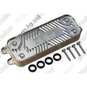 Теплообменник ГВС вторичный  Vaillant Atmo/Turbo Tec/Pro, арт. 0020020018